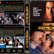 Speed / Speed 2 Double Feature (1994-1997) R1 Custom Blu-Ray Cover