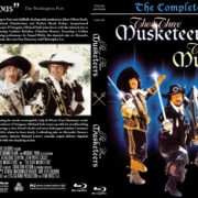 The Three Musketeers / The Four Musketeers Double Feature (1973-1974) R1 Custom Blu-Ray Cover
