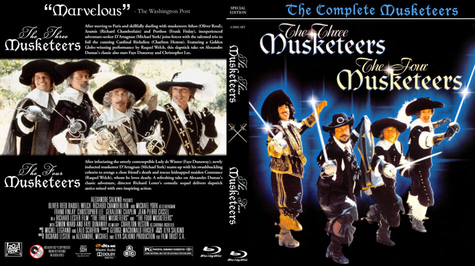 the four musketeers 1993