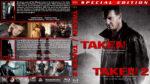 Taken / Taken 2 Double Feature (2008-2012) R1 Custom Blu-Ray Cover