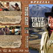 True Grit / Rooster Cogburn Double Feature (1969-1975) R1 Custom Blu-Ray Cover