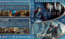 Thor Double Feature (2011-2013) R1 Custom Blu-Ray Covers