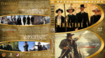 Tombstone / Wyatt Earp Double Feature (1993-1994) R1 Custom Blu-Ray Cover