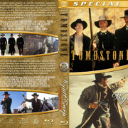 Tombstone / Wyatt Earp Double Feature (1993-1994) R1 Custom Blu-Ray Cover