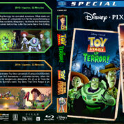 Toy Story of Terror / Toy Story that Time Forgot Double (2013-2014) R1 Custom Blu-Ray Cover