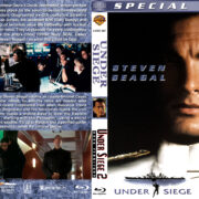 Under Siege Double Feature (1992-1995) R1 Custom Blu-Ray Cover