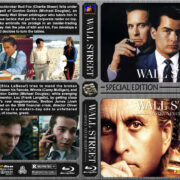 Wall Street Double Feature (1987-2010) R1 Custom Blu-Ray Covers