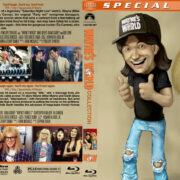 Wayne's World Double Feature (1992-1993) R1 Custom Blu-Ray Cover