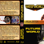 Westworld / Futureworld Double Feature (1973-1976) R1 Custom Blu-Ray Cover