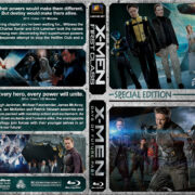 X-Men: First Class / X-Men: Days of Furure Past Double (2011-2014) R1 Custom BLu-Ray Cover