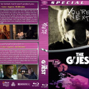 You're Next / The Guest Double Feature (2011-2014) R1 Custom Blu-Ray Cover