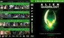 Alien Quadrilogy (1979-1997) R1 Custom Blu-Ray Covers