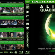 Alien Quadrilogy (1979-1997) R1 Custom Blu-Ray Covers