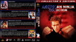 American Ninja Quad (1985-1991) R1 Custom Blu-Ray Cover