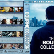 The Bourne Collection (2002-2012) R1 Custom Blu-Ray Cover