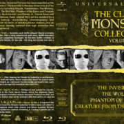 The Classic Monster Collection – Volume 2 (1940-1954) R1 Custom Blu-Ray Cover