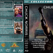 Chuck Norris Collection – Set 2 (1982-1985) R1 Custom Blu-Ray Cover