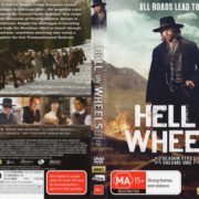 Hell On Wheels: Season 5 Volume 1 (2015) R4 Cover & labels