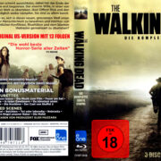 The Walking Dead: Season 2 (2012) R2 German Blu-Ray Cover