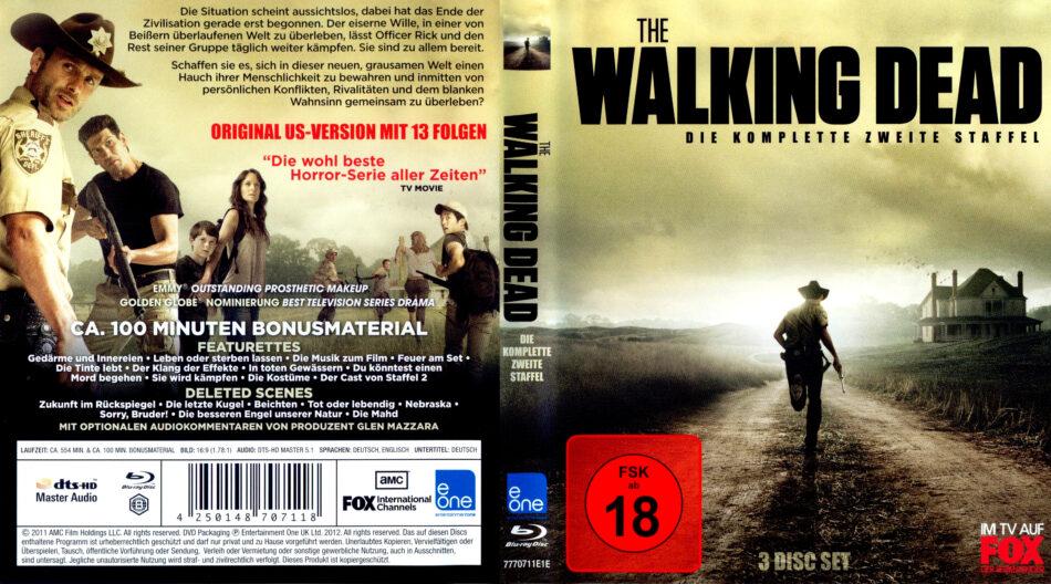 The Walking Dead Season 2 Blu Ray Cover 2012 R2 German
