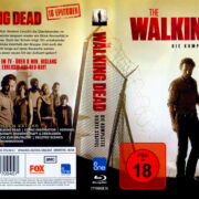 The Walking Dead: Season 4 (2014) R2 German Blu-Ray Cover