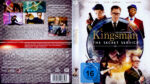 Kingsman: The Secret Service (2014) R2 German Blu-Ray Cover