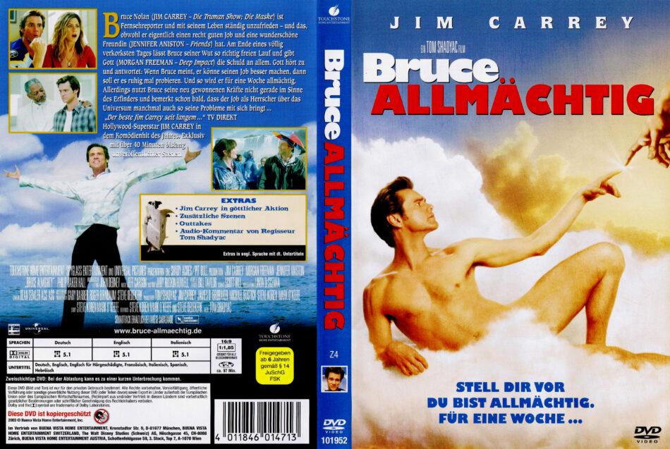 Bruce Allmächtig Dvd Cover 2003 R2 German