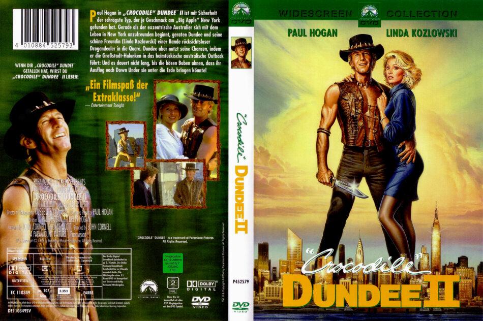 Crocodile Dundee 2 Dvd Cover 1988 R2 German