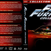 Fast & Furious Collection - Volume 1 (2001-2009) R1 Custom Blu-Ray Cover