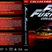 Fast & Furious Collection - Volume 2 (2011-2015) R1 Custom Blu-Ray Cover
