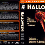 Halloween Collection - Volume 1 (1978-1988) R1 Custom Blu-Ray Cover