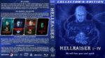 Hellraiser I-IV (1987-1996) R1 Custom Blu-Ray Cover