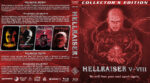 Hellraiser V-VIII (2000-2006) R1 Custom Blu-Ray Cover