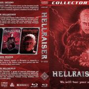 Hellraiser V-VIII (2000-2006) R1 Custom Blu-Ray Cover