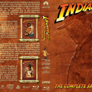 Indiana Jones: The Complete Saga (1981-2008) R1 Custom Blu-Ray Cover
