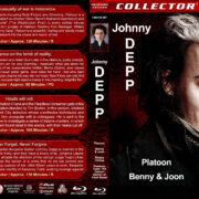 Johnny Depp Quad (1986-2007) R1 Custom Blu-Ray Cover