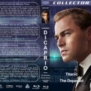 Leonardo DiCaprio Quad (1997-2013) R1 Custom Blu-Ray Cover