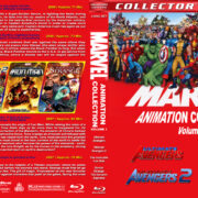 Marvel Animation Collection - Volume 1 (2006-2007) R1 Custom Blu-Ray Cover
