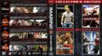 The Marine 4-Pack (2006-2015) R1 Custom Blu-Ray Cover