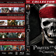 Pirates of the Caribbean: The Complete Collection (2003-2011) R1 Custom Blu-Ray Covers