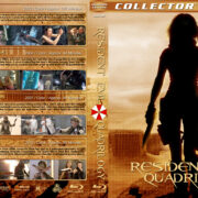 Resident Evil Quadrilogy (2002-2012) R1 Custom Blu-Ray Covers
