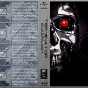 Terminator Quadrilogy (1984-2009) R1 Custom Blu-Ray Cover
