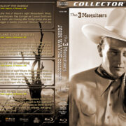 The 3 Mesquiteers – John Wayne Collection – Volume 1 (1938) R1 Custom Blu-Ray Cover