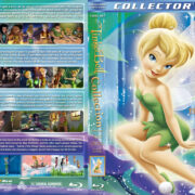 TinkerBell Collection (4-disc-set) (2008-2012) R1 Custom Blu-Ray Covers