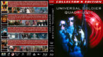 Universal Soldier Quadrilogy (1992-2012) R1 Custom Blu-Ray Cover