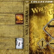 Wrong Turn 1-4 (2003-2011) R1 Custom Blu-Ray Cover