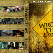 Wrong Turn 4-Pack (2003-2011) R1 Custom Blu-Ray Cover