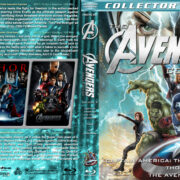 The Avengers Collection - Volume 2 (2011-2012) R1 Custom Blu-Ray Cover
