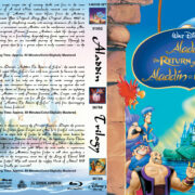 Aladdin Trilogy (1992-1995) R1 Custom Blu-Ray Cover
