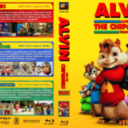 Alvin and the Chipmunks Triple Feature (2007-2011) R1 Custom Blu-Ray Covers